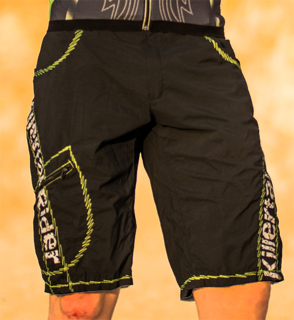 Bike Shorts Baggy Killertal Rider®, schwarz-grün